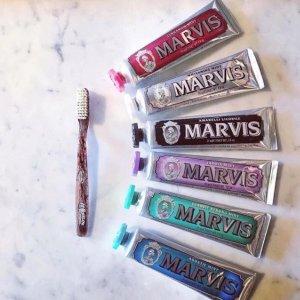 全线7.5折 美白去渍专供英国头等舱Marvis玛尔斯 牙膏中的爱马仕限时热卖
