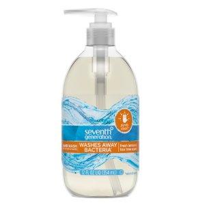 $2.99Seventh Generation Purely Clean Hand Wash Soap Fresh Lemon & Tea Tree 12 oz