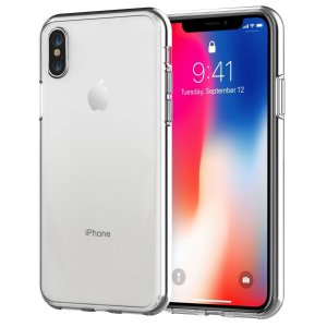 $5.99 (原价$10.99)闪购:JETech iPhone X 透明手机壳