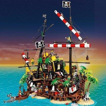 梭鱼湾 海盗沉船岛 21322   Ideas系列