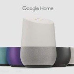 6折起 语音控制家庭设备Google Home 系列智能音箱特卖