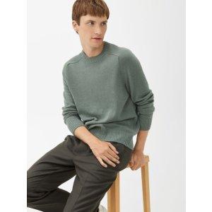 arket绿色毛衣