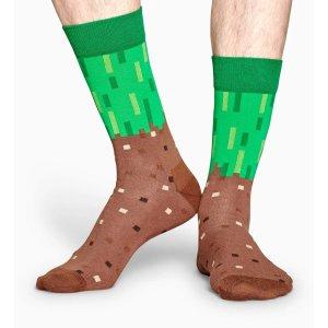 Happy Socks我的世界联名袜