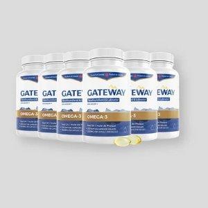 Gateway海豹油omega-3(250粒)x6瓶