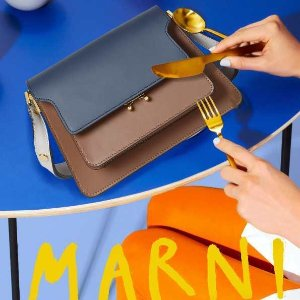全场8.5折 $637起Marni 2020新品热卖 秦岚、李沁、宋祖儿都Pick的经典美包