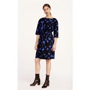 Tarika Kissapollo dress - blue, black - Marimekko.com