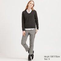 Uniqlo 100%纯羊绒V领毛衣 多色可选