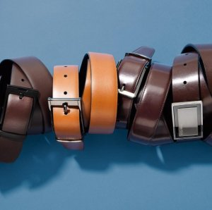 Extra 60% OFF Just $8Perry Ellis Leather Belt Sale