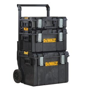 $98DEWALT ToughSystem DS450 22 in. 17 Gal. Mobile Tool Box, DS130 Tool Box and DS300 Large Tool Box Combo Set