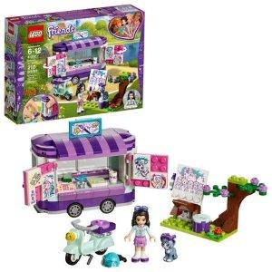 Lego史低价好朋友系列 Emma的艺术小站 41332