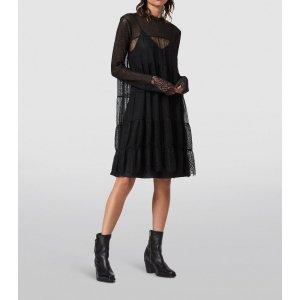 AllSaints蕾丝连衣裙