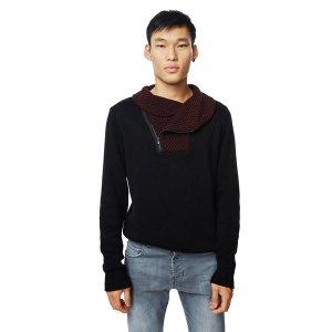 Men's black jumper - Daniel | Desigual.com