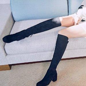 $242.99 Stuart Weitzman Women's 5050 Over-the-Knee Boot @ Amazon.com