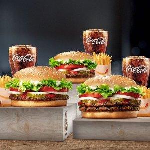 现价$5 (原价$10)Burger King $10 电子礼卡限时特卖