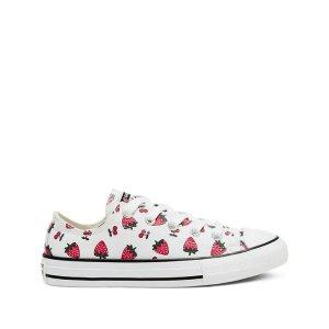 Converse草莓低帮帆布鞋
