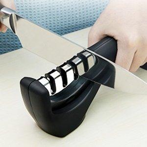 折后€9.99 原价€16.15Adoric 三步式磨刀器热促 让你的宝刀重获锋利