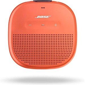 $69 三色可选Bose SoundLink Micro 便携防水蓝牙音箱