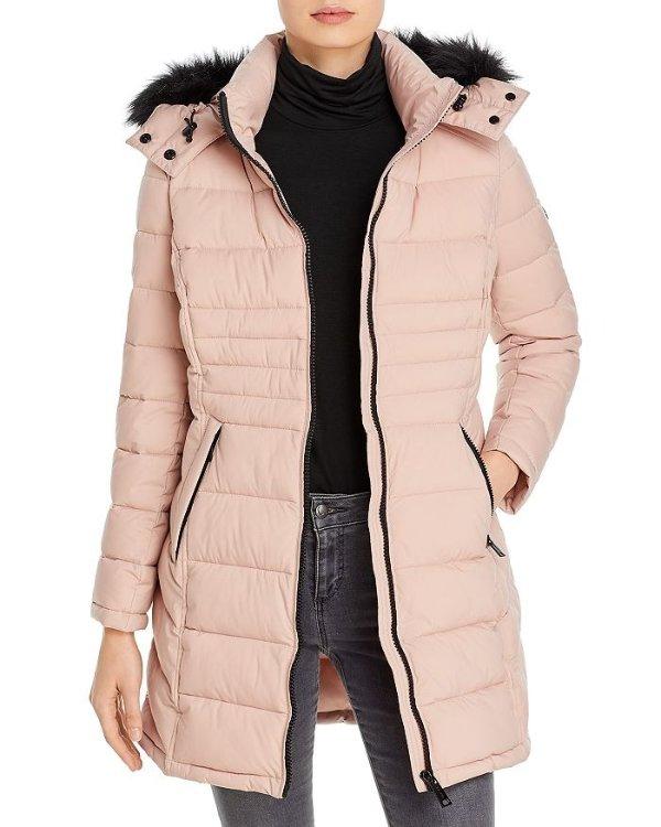 毛毛领外套