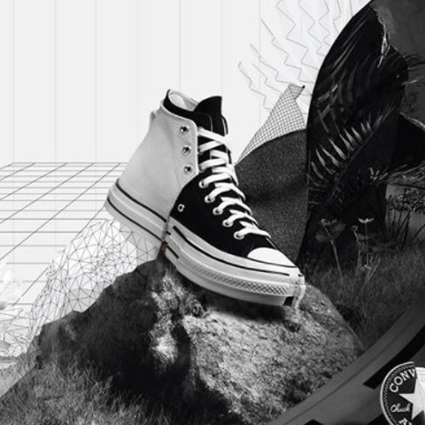 €160收 2色可选 码全Converse x Feng Chen Wang 新款合二为一高帮帆布鞋开售