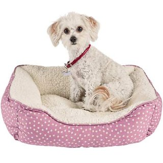 Harmony Khaki Nester Dog Bed, 20