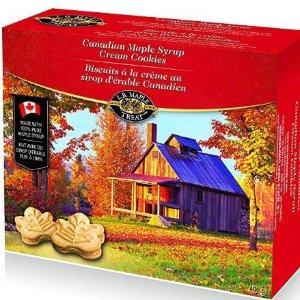 $3.97(原价$6.76)折扣升级:L B Maple Treat 枫糖浆饼干  枫叶国特产