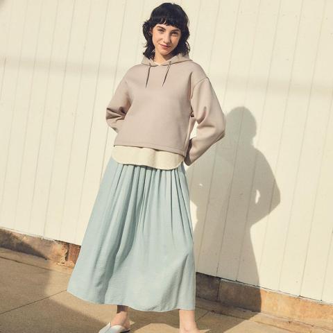 Uniqlo 春夏半身裙促销 平价穿出法式优雅