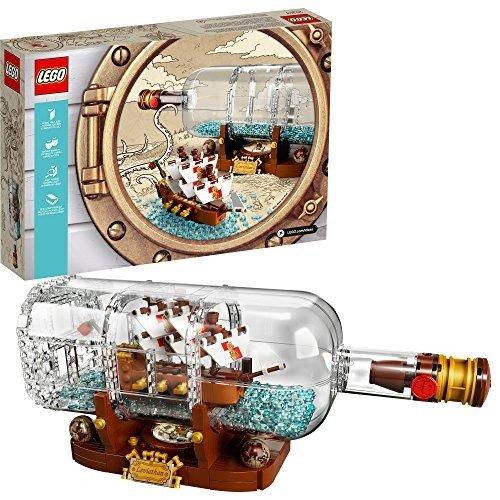 Ideas系列 瓶中船 - 21313