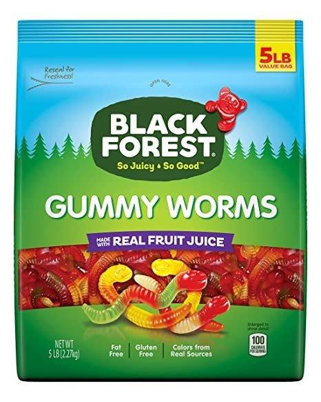Black Forest 小虫水果软糖 5磅