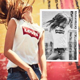 2件7.5折精选 Levi's 男女款短袖T恤 热卖