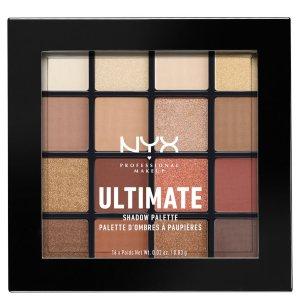 NYX Professional Makeup香奈儿平替经典十六色眼影盘