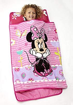 $13.19 Disney Minnie Mouse Toddler Rolled Nap Mat @ Amazon.com