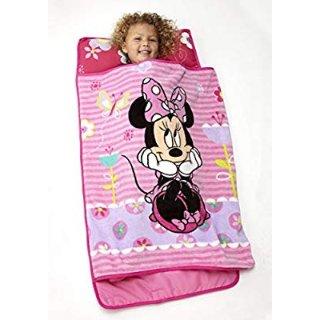 $13.65(原价$16.99)Disney迪斯尼Minnie米妮幼童午睡一体垫