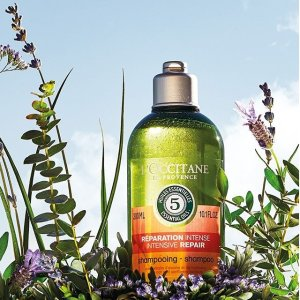 20% offwith hair care purchase @ L'Occitane