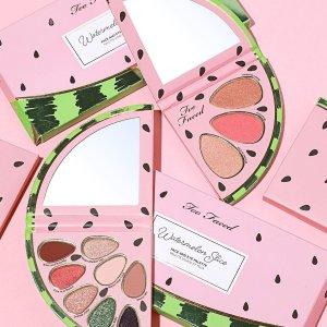低至2.5折Too Faced 精选水果系列彩妆热卖