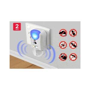 四合一电子驱虫器r (2 Pack) | Ultrasonic Pest Repellers |