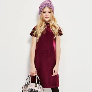 3折起上新:GUESS kids 促销区童装热卖 封面丝绒裙仅$14.95