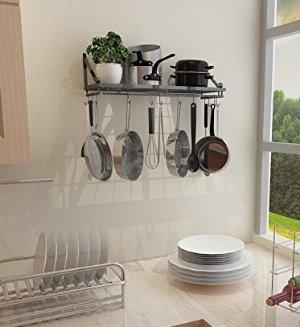 403c9432904  27.99 ZESPROKA Kitchen Wall Pot Pan Rack