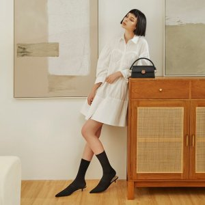 低至3.8折 马鞍包回归$78Charles&Keith官网 包包鞋履二重礼 性价比极简设计 美的绝绝子
