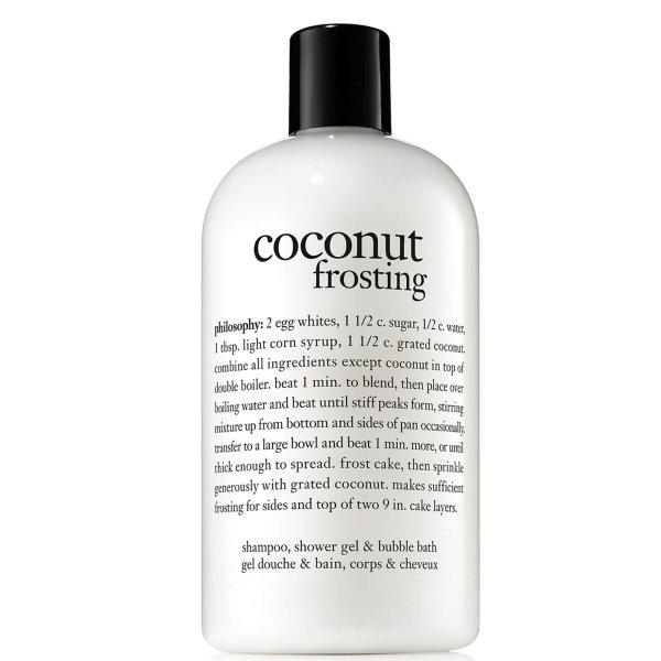 椰子洗发沐浴啫喱 480ml