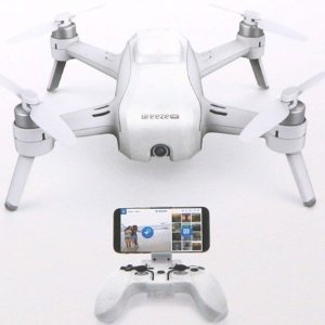 $99.99Yuneec Breeze Drone With 4K Camera & Bluetooth Controller
