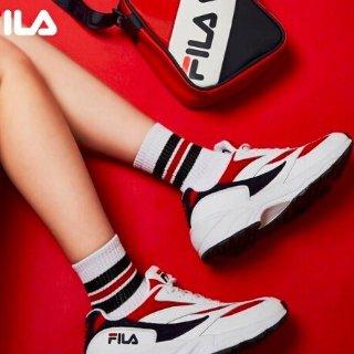 两件8.8折叠加券再减¥100即将截止:FILA 大牌日  ¥536收封面款复古 FHT 跑鞋