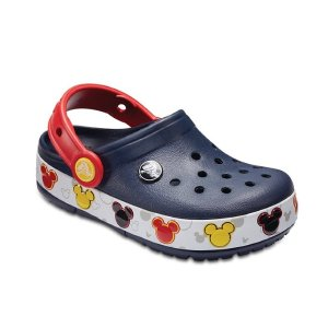 $26.99 (原价$44.99)Crocs Crocband Mickey 米奇闪灯鞋 另有粉色米妮款