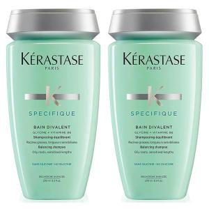 限时8折+叠9折 €38收2瓶!Kérastase 卡诗 双重功能洗发水250ml*2瓶装 油皮最爱洗发水!