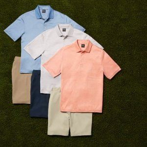3 For $99Jos. A. Bank Men's Polo Shirts Sale