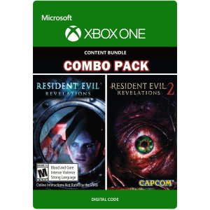 Resident Evil Revelations 1 & 2 Bundle Xbox One Code