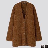 Uniqlo U系列 混羊毛开衫