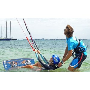 groupon两小时 Kiteboarding Lesson