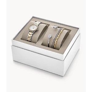 女式腕表礼盒 金银色款