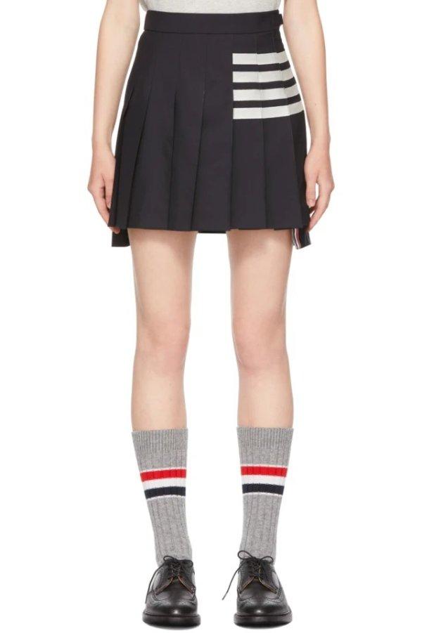 4-Bar 百褶半裙