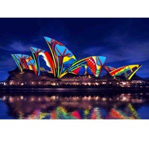 低至4折Vivid Sydney 悉尼灯光音乐节 2小时游船+自助晚餐